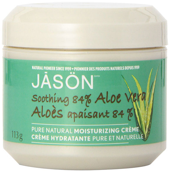 jason, aloe cream, moisturizer, beauty products, body care, beauty brief, organic beauty