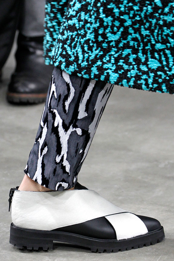 runway report, catwalk review, fashion critic, fashion week shows, paris fashion week, PFW, shoes, proenza schouler