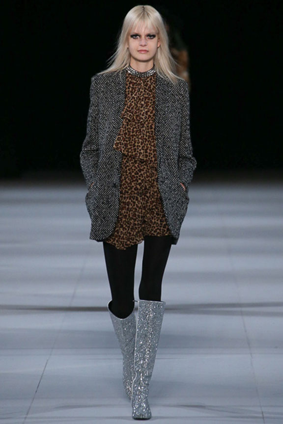 runway report, catwalk review, fashion critic, fashion week shows, paris fashion week, PFW, saint laurent, hedi slimane