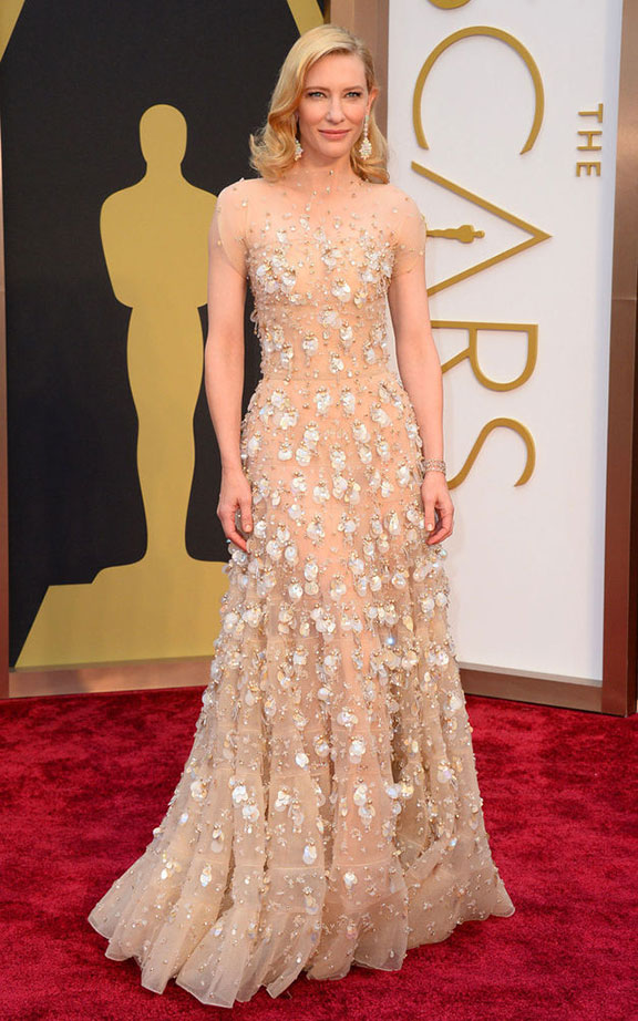 oscars, red carpet, 2014, academy awards, evening wear, celebrities,  cate blanchett, armani prive