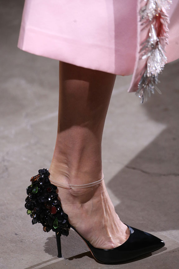 runway report, catwalk review, fashion critic, fashion week shows, paris fashion week, PFW, shoes, rochas