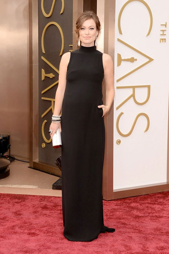 oscars, red carpet, 2014, academy awards, evening wear, celebrities, olivia wilde, valentino