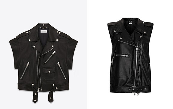 topshop, saint laurent, rip off, hedi slimane, designer clothing