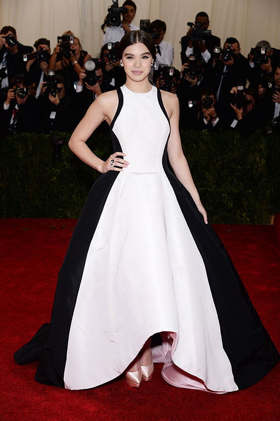 met costume gala, red carpet, vogue, celebrities, evening wear, hailee steinfeld, prabal gurung