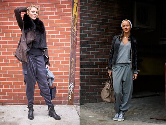 sweatpants, work clothes, bad style, fashion faux pas,