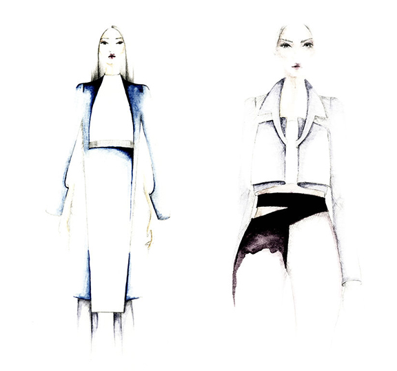 fashion school, london college of fashion, graduate collections