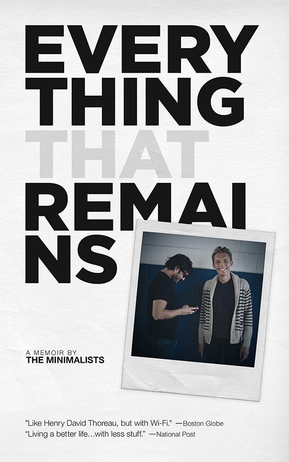 novels, summer reading, minimalism, the minimalists, books