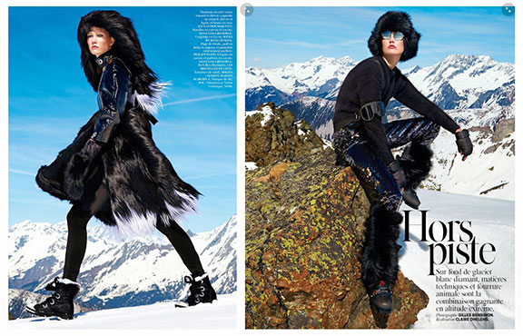 fur, fashion, editorial, vogue paris, fur is in fashion, i love fur