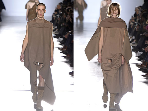 Rick owens, catwalk, menswear, runway fashion
