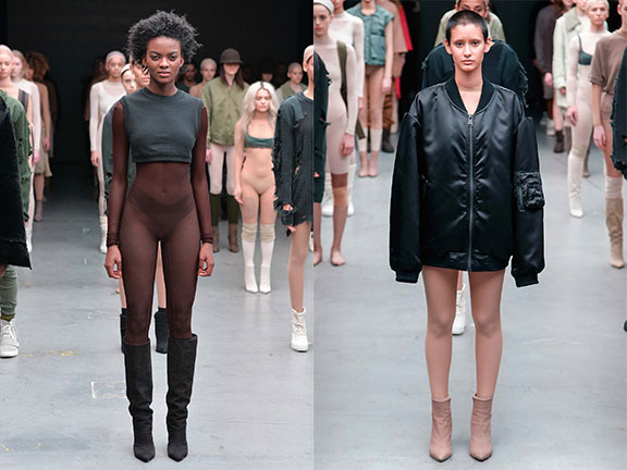 kanye west, adidas originals, twat, celebrity designer, ugly fashion, new york fashion week, catwalk shows, fashion critic
