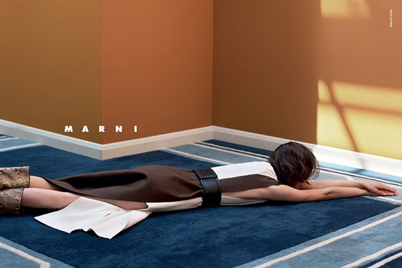 fashion advertising, fashion photography, campaign, magazines, fashion, marni
